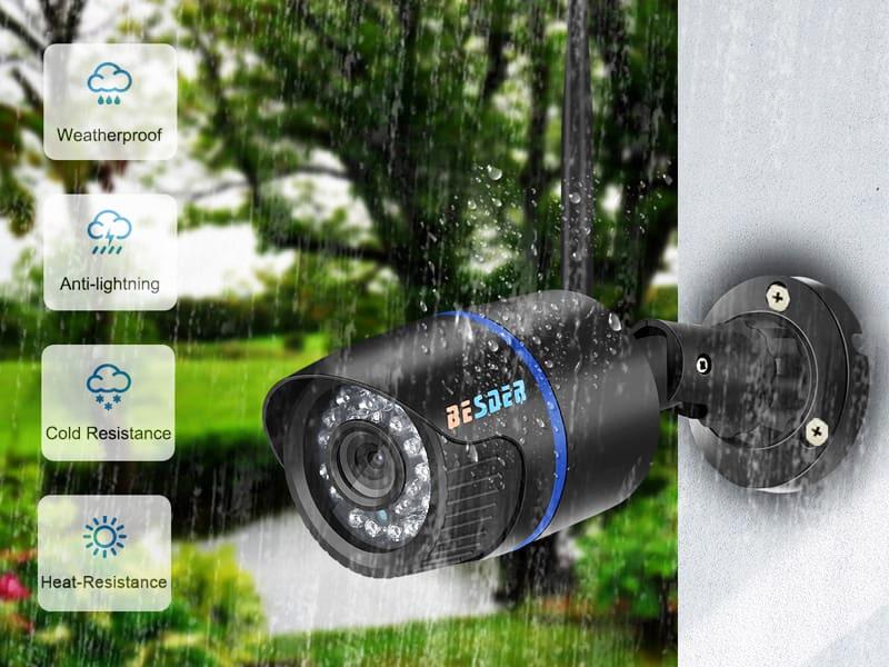 Camera wifi ngoài trời chống nước