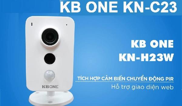 Camera Wifi 2.0MP KBONE KN-C23: