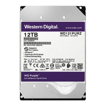 Ổ cứng WD Purple 12T WD121PURZ