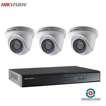 bộ camera 3 mắt HikVision