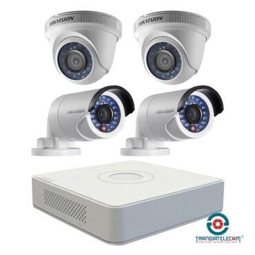 bộ camera 4 mắt HikVision